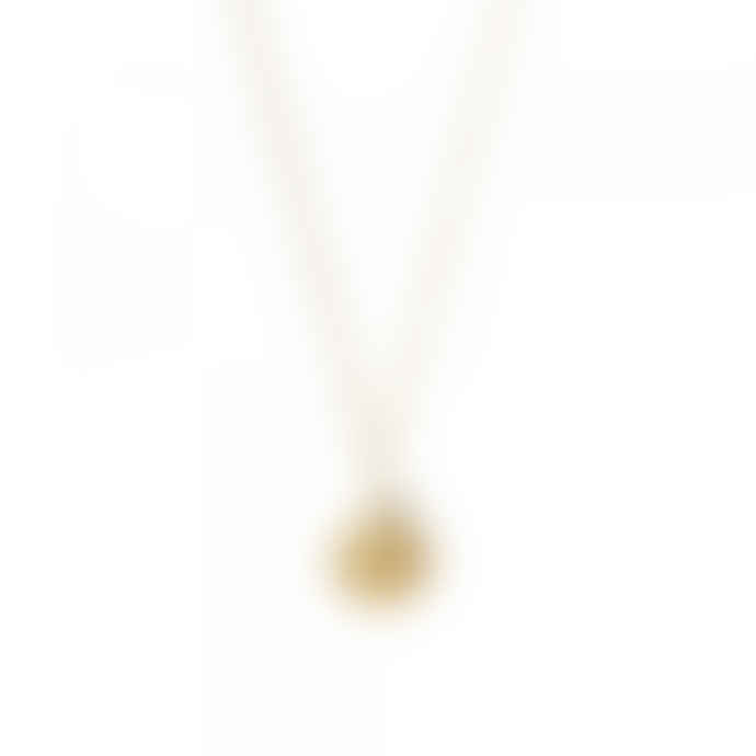A Beautiful Story Rose Aventurine Gold Necklace