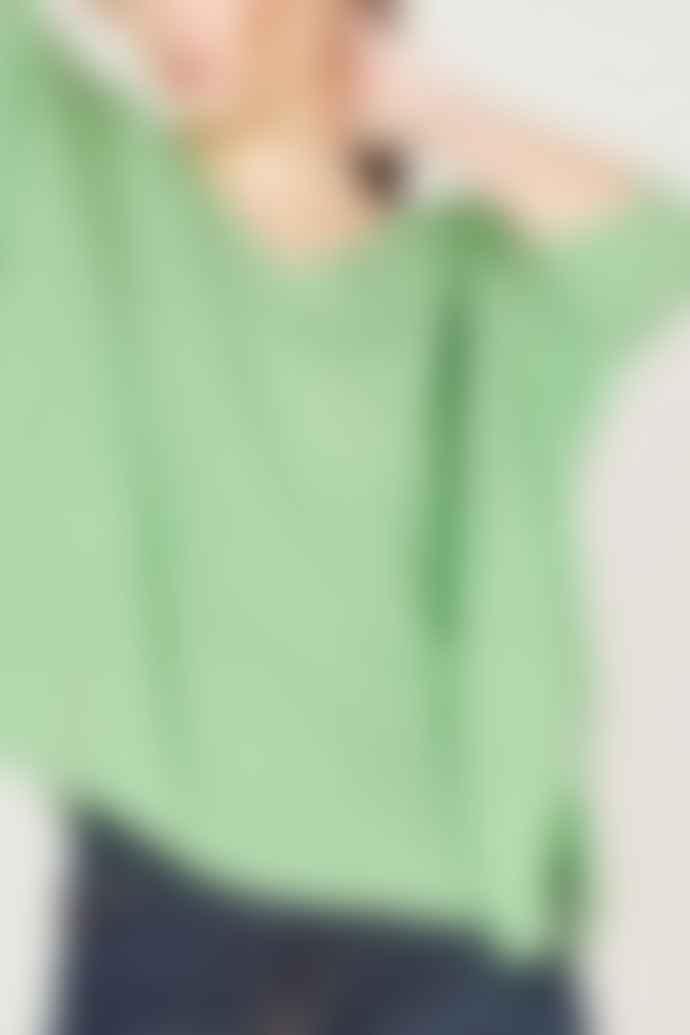 Absolut Cashmere Pistachio Kate Cashmere Sweater