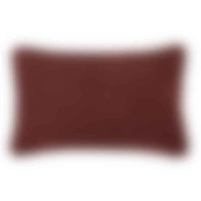 Bungalow Cushion 33x50cm Velvet Atlantic