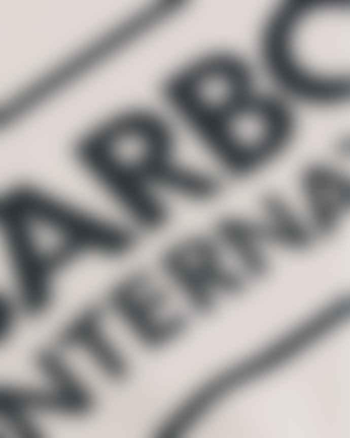 Barbour International Barbour International Large Logo Crew Neck Tee White