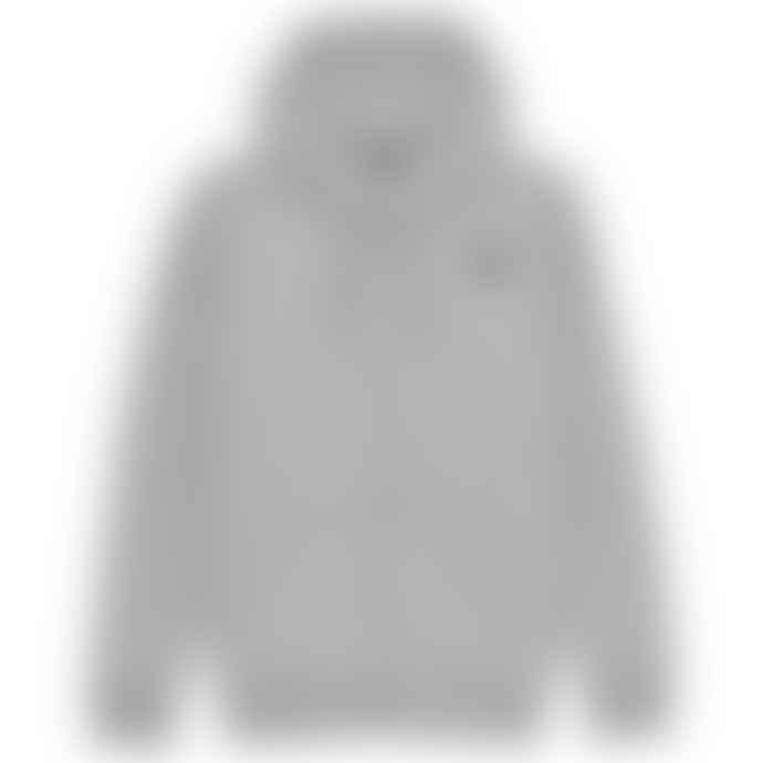 Emporio Armani  Grey Ea 7 New Badge Zip Loopback Hood