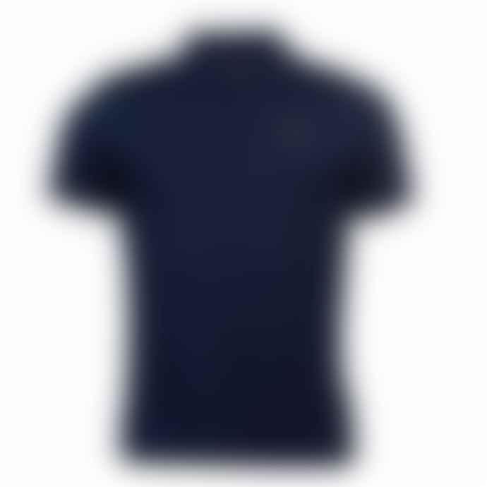 Barbour International Saltire Polo Shirt Navy