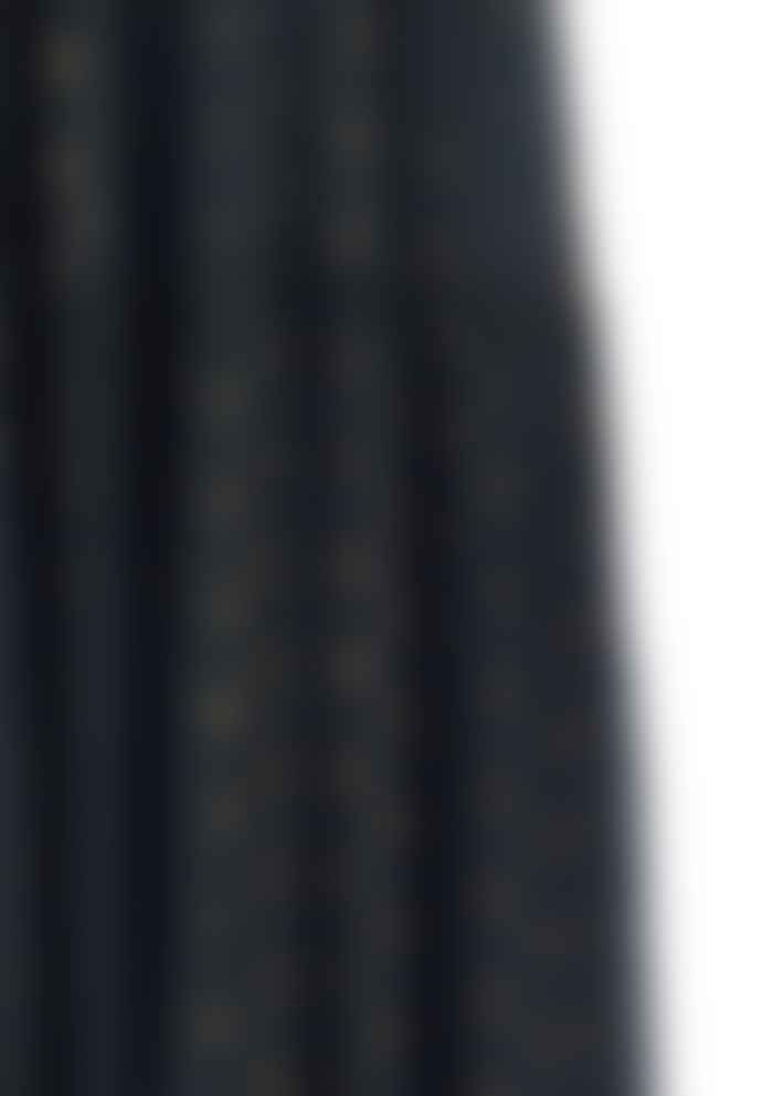 M.A.B.E Charcoal Lurex Tiered Livia Maxi Dress