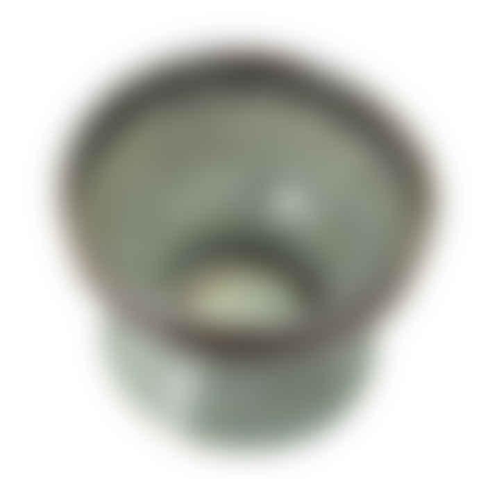 Bloomingville Green Jar with Lid