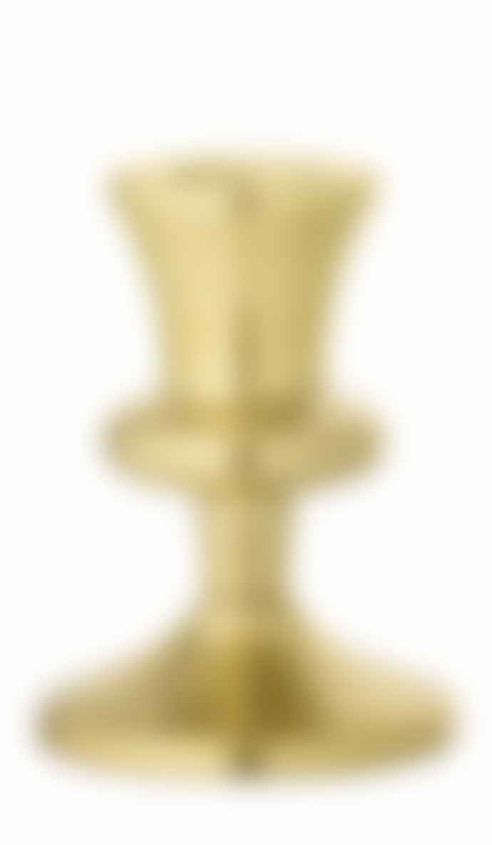 Bloomingville Small Gold Candlestick