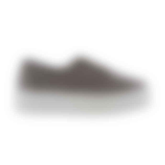 Victoria Platform Plimsoll Shoes in Grey
