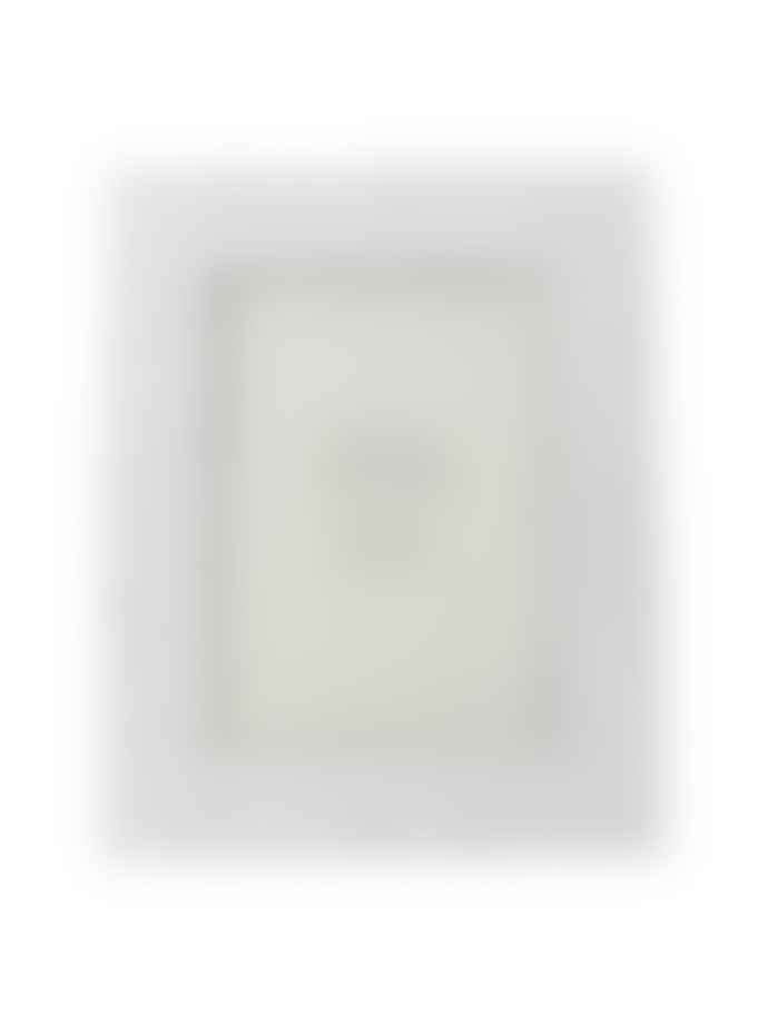 Gisela Graham White Grey Resin Crater Picture Frame 5 X 7
