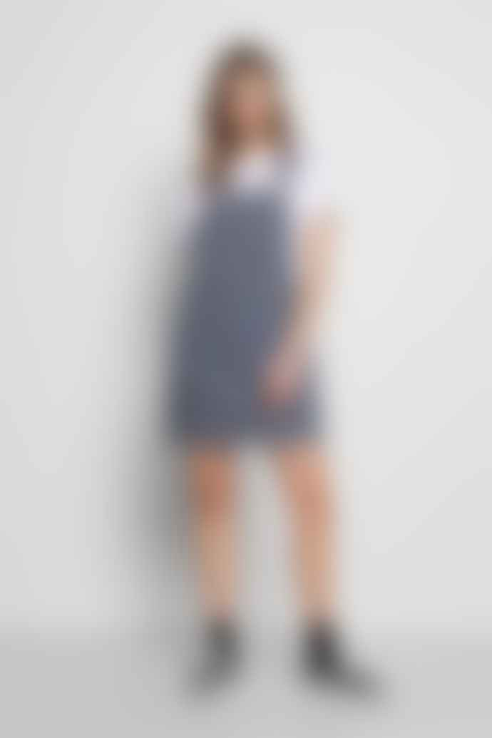 DR.DENIM Michigan Pinafore Dress Stripe