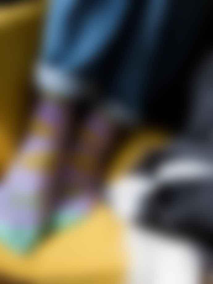 Kabak Cats Violet Socks