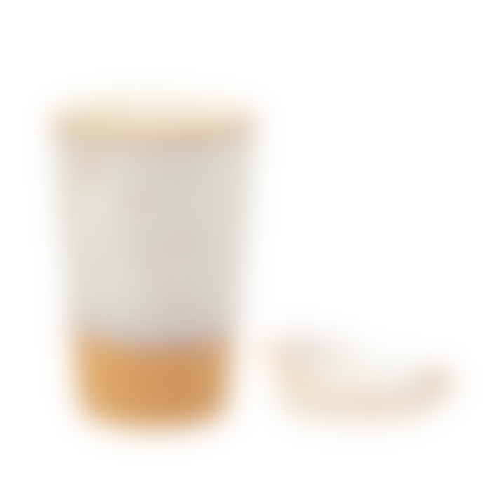 Sass & Belle  Hand Finished Beautifully Designed White Glazed Ceramic Travel Mug