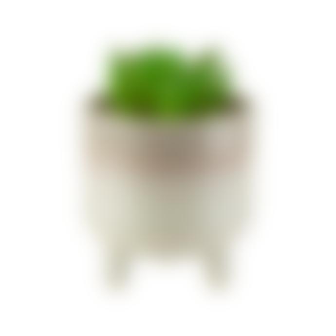 Sass & Belle  Mojave Glaze Grey Ceramic Mini Planter