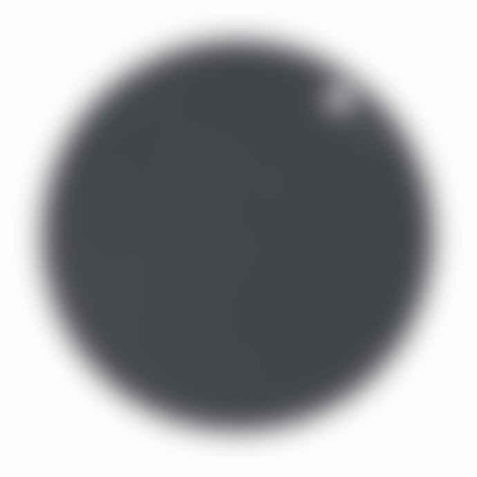 OYOY Placemat Dot 2 Pcs Pack Dark Grey