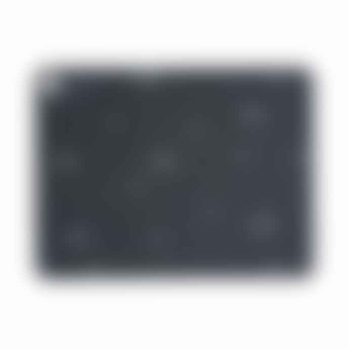 OYOY Placemat Grey Line 2 Pcs Pack Dark Grey