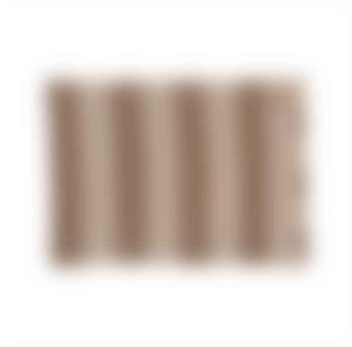 OYOY Sonno Plaid Nude Melange Light Brown Melange