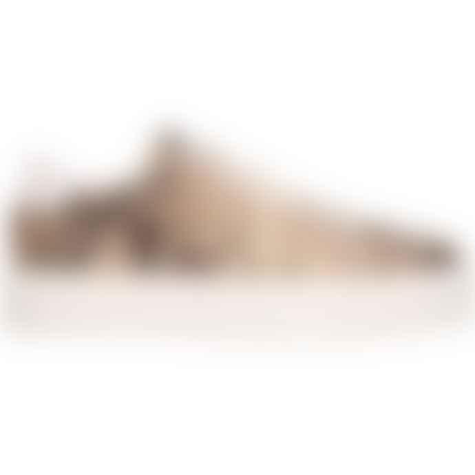 Maruti Footwear Ted Snakeskin Leather Trainer