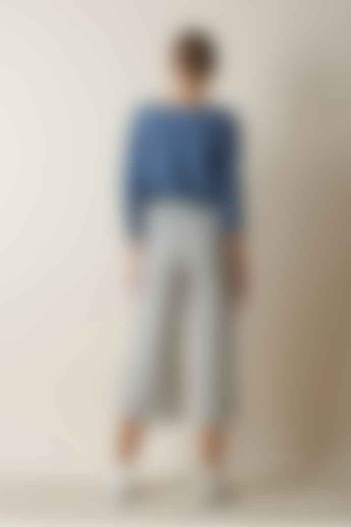 Indi & Cold Wide Trousers With Bicoloured Stripes