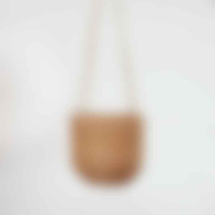 Wikholm Form Hanging Jute Pot