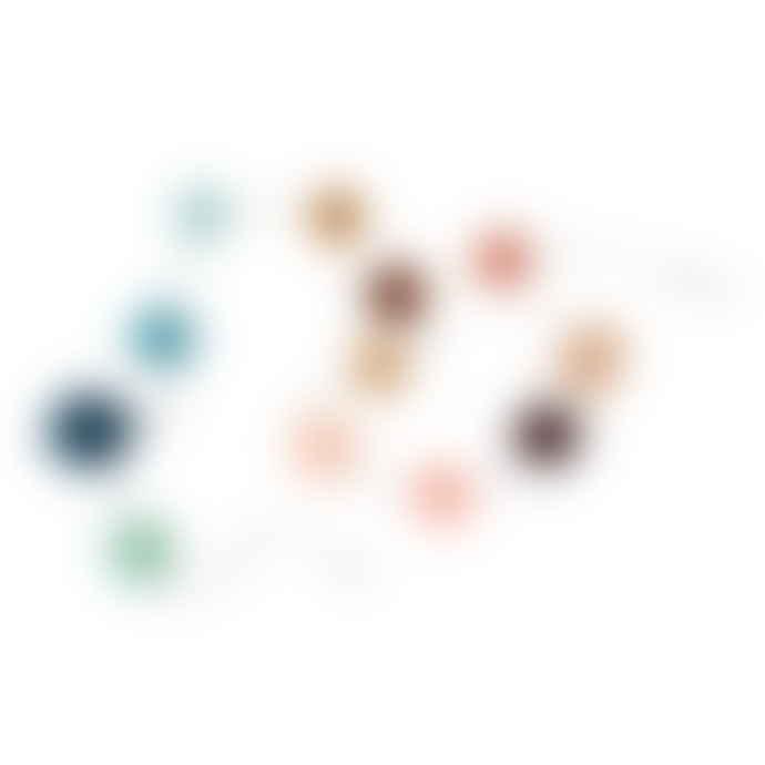 OYOY Multi-Colored Pom Pom Garland