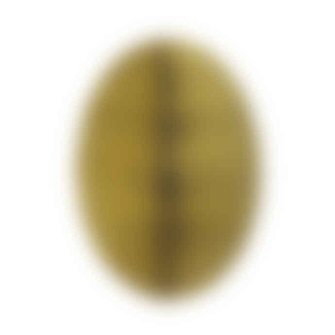 Bungalow DK Set of 2 Medium Easter Swirl Limelight Paper Egg Decoration Honeycomb