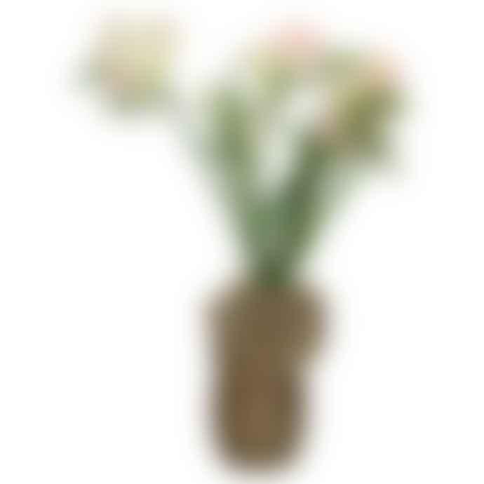 Kersten Grey/Brown Elephant Vase