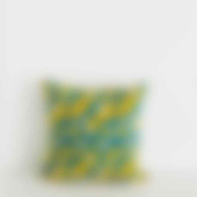Jamini Elsa Blue Pillowcase 16 x 16 inches