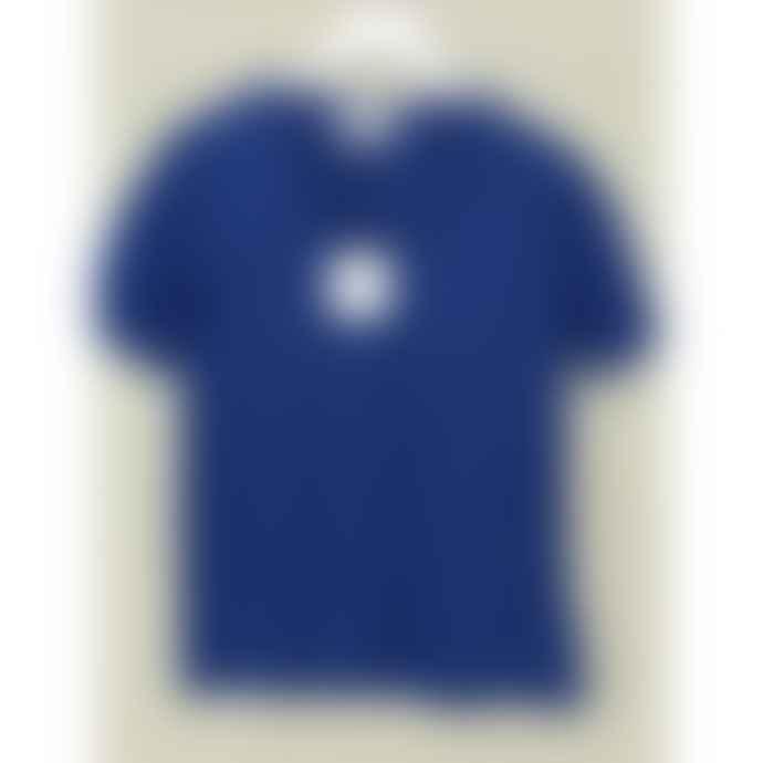 Maison Anje Daisy Greek Blue V Neck T Shirt