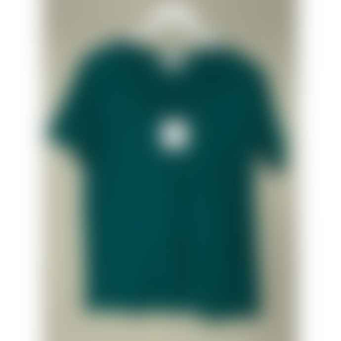 Maison Anje Daisy Agave Green V Neck T Shirt