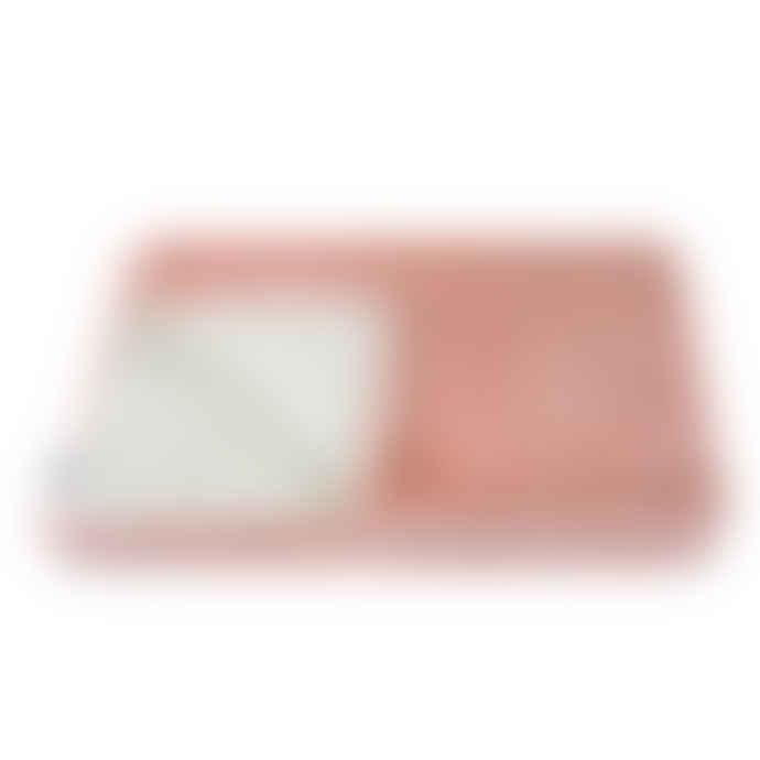 Helen Moore Faux Fur Comforter Throw - Dusky Pink