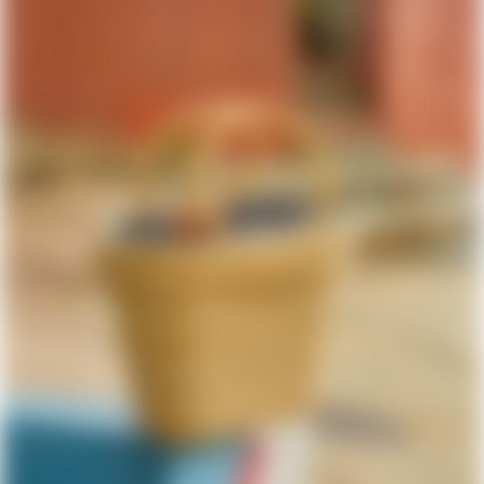 Petite Mendigote Brigitte Straw Basket