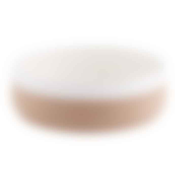 LIGA Earthware Salad Bowl in Cream
