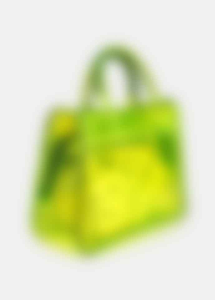 Essentiel Antwerp Neon Yellow PVC Tote Bag