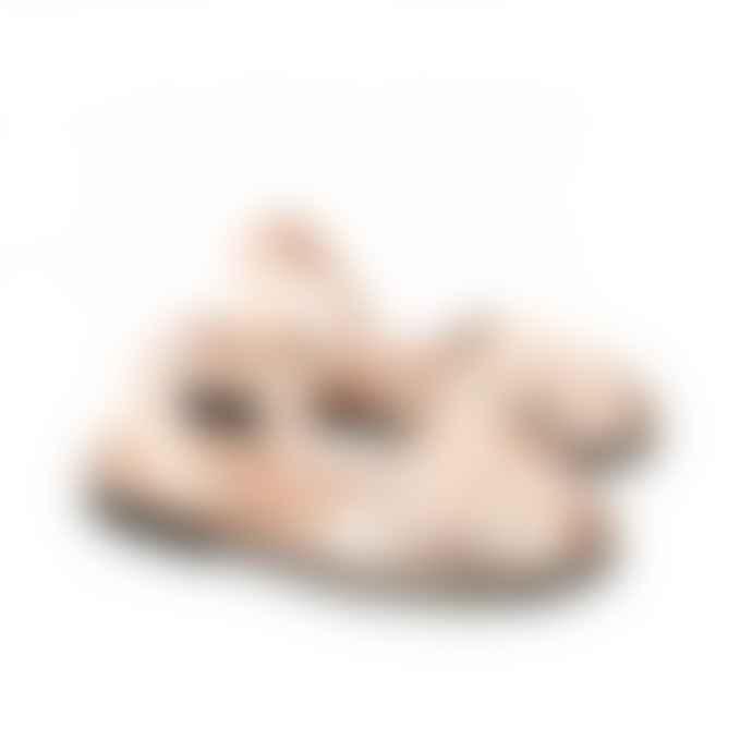 Minorquines Avarca Oro Sandal with Fringes