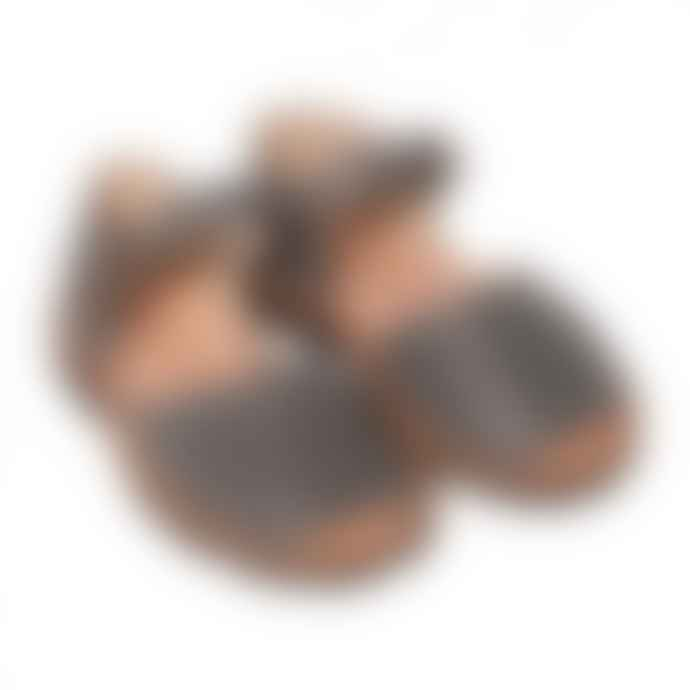Minorquines Gray Frailera Sandal