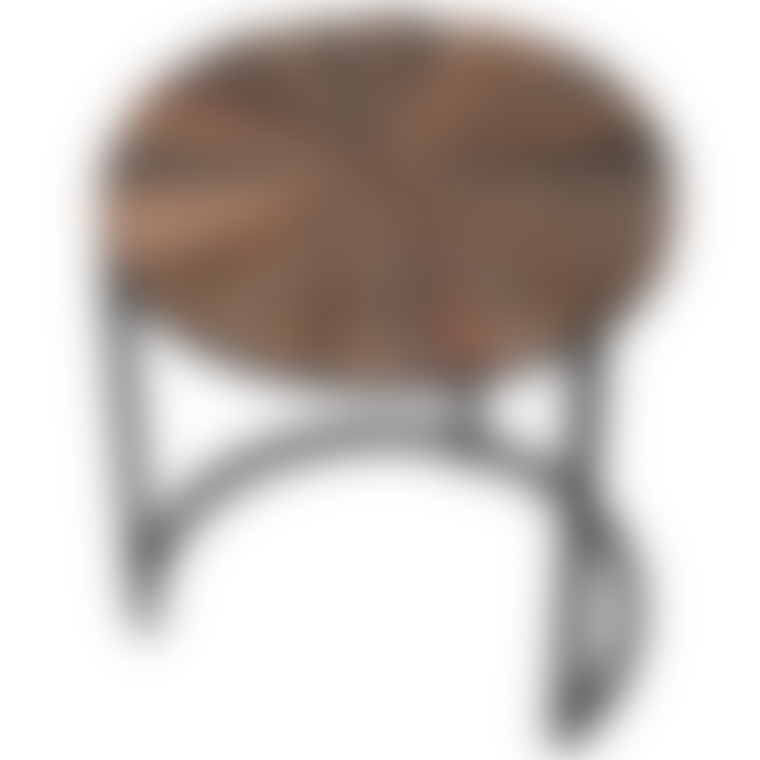 Coach House Set Of 3 Natural Round Tables