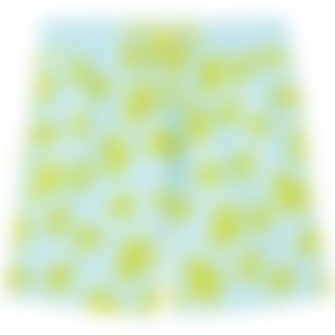 Vilebrequin Vilebrequin Moorea Swim Short Tortues Flockées Bleu Givre