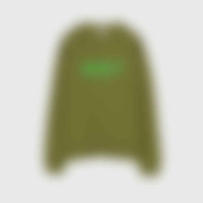 OOF Wear Unisex Cotton Sweatshirt in Green