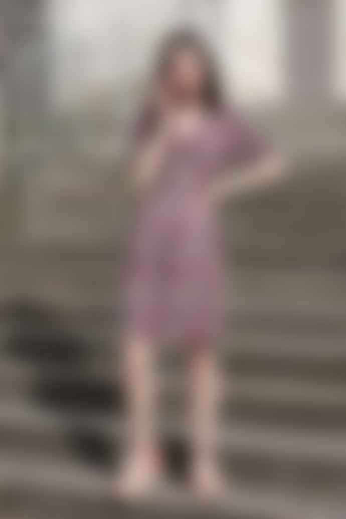 Petite Mendigote Marlene Marine Dress