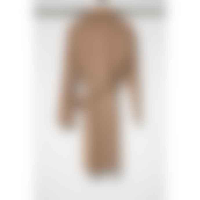 Yaya Camel Suede Trench Coat