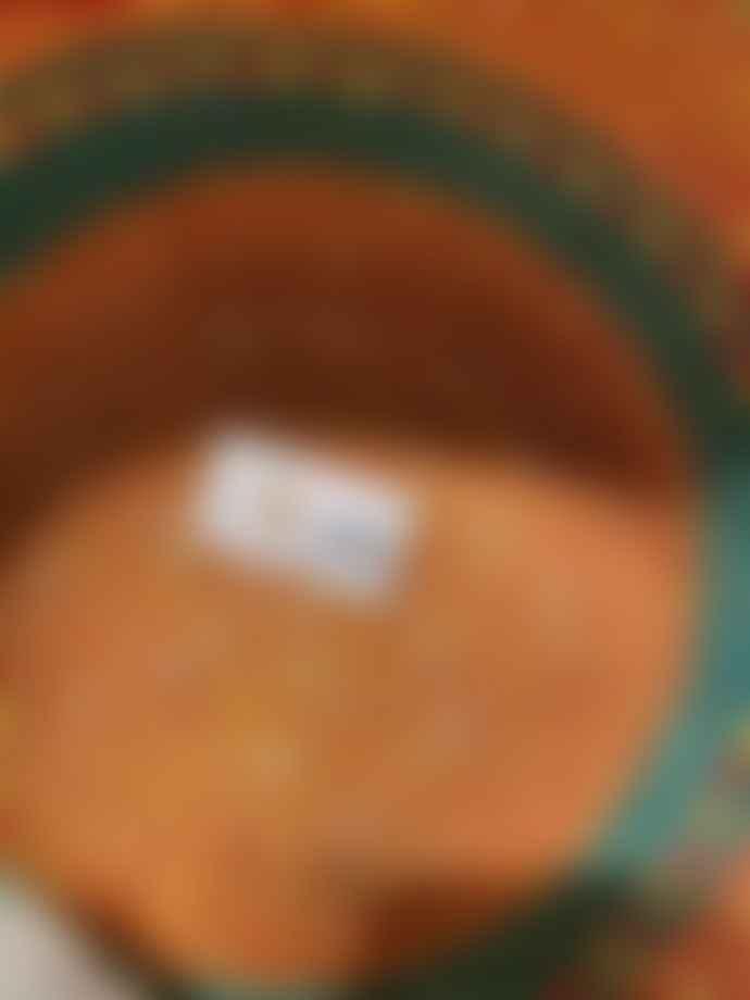 Hadithi Basket Teal/Orange/Yellow