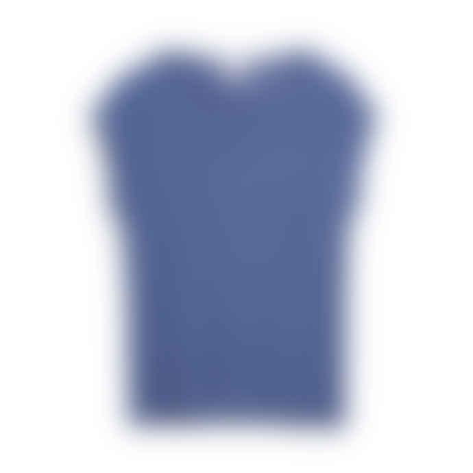 Armedangels Jilaa Blue Indigo T-Shirt