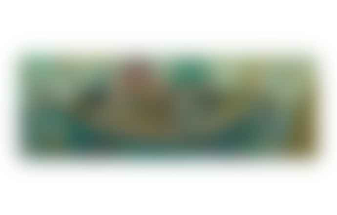 Djeco  Puzzle Gallery Poetic Boat 350 Pieces Jigsaw Age 7+