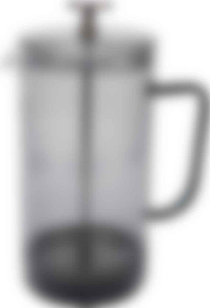La Cafetiére Smoke Grey Glass 8 Cup Cafetiere