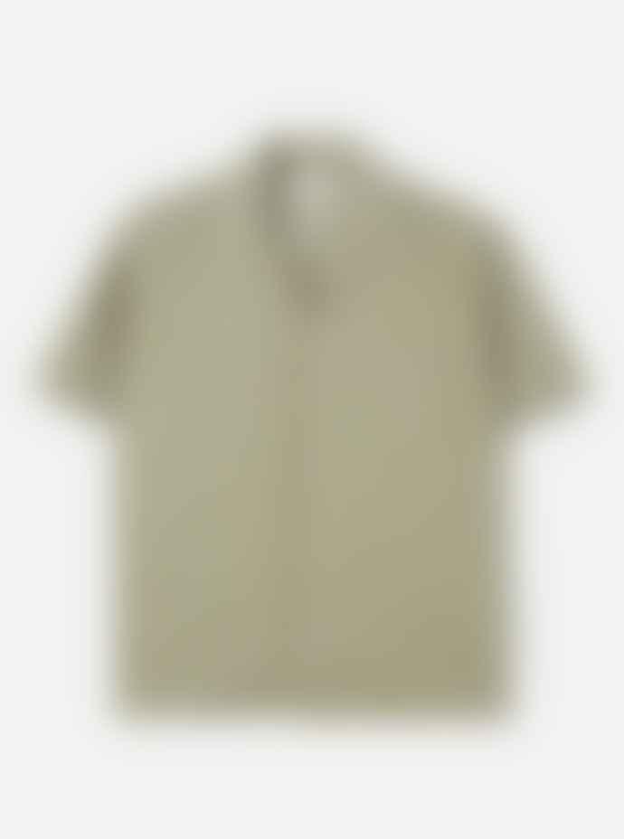 Universal Works Open Collar Shirt Laurel