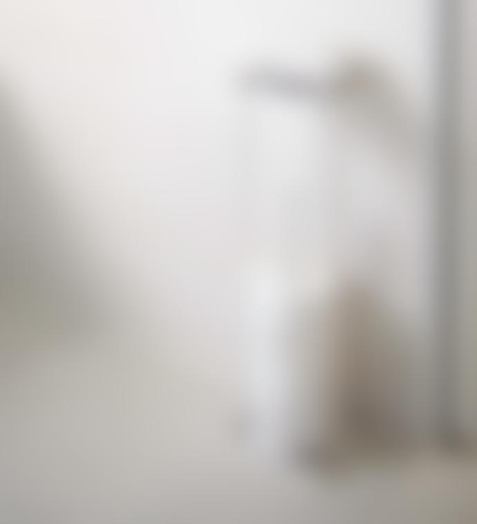 Yamazaki Tower Toilet Paper Stand With Tray White