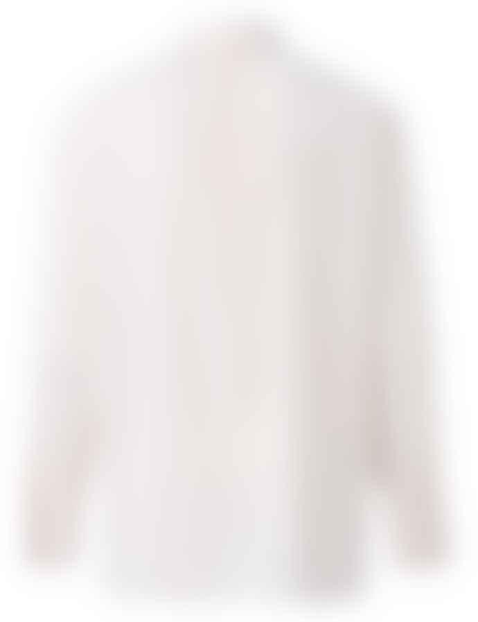 Yaya Pale Pink Jacquard Double Cuffs Shirt