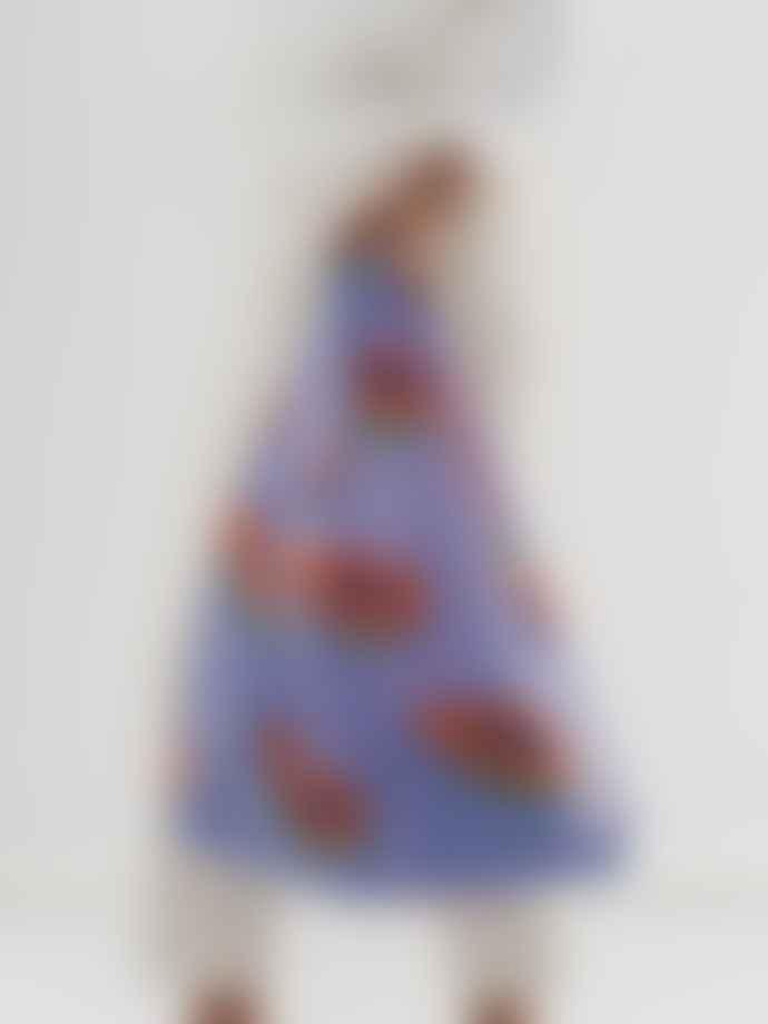 Baggu Standard Reusable Bag - Blue Papaya