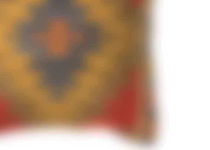 Good Weave Khorassan Handloom Kilim Cushion 50 X 50 Cm
