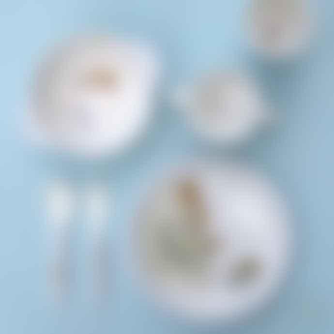 Petit Jour Set of 2 Ernest and Celestine Cutleries