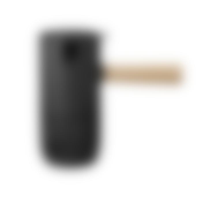 Stelton Stainless steel coffee maker with black Teflon coating Ø: 8 CM, H: 17.5 CM