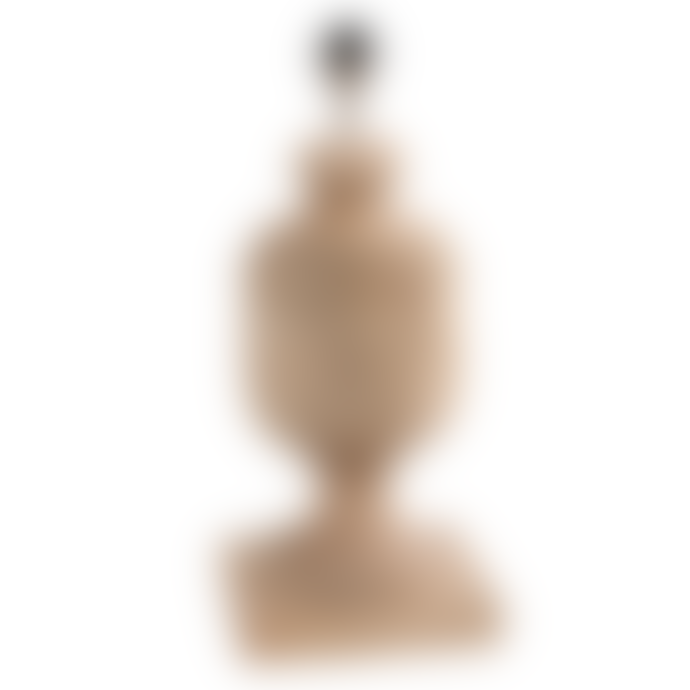 PTMD Light-coloured solid wood table lamp base